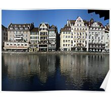 Lucerne' old town Poster