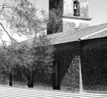 Laureana Cilento: church and tree Sticker