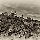 Pemaquid Point Light by JHRphotoART