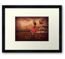 Traveling To Fairy Land Framed Print