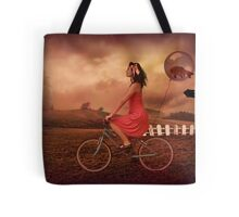 Traveling To Fairy Land Tote Bag