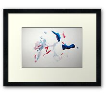 Dancing Penguin Framed Print