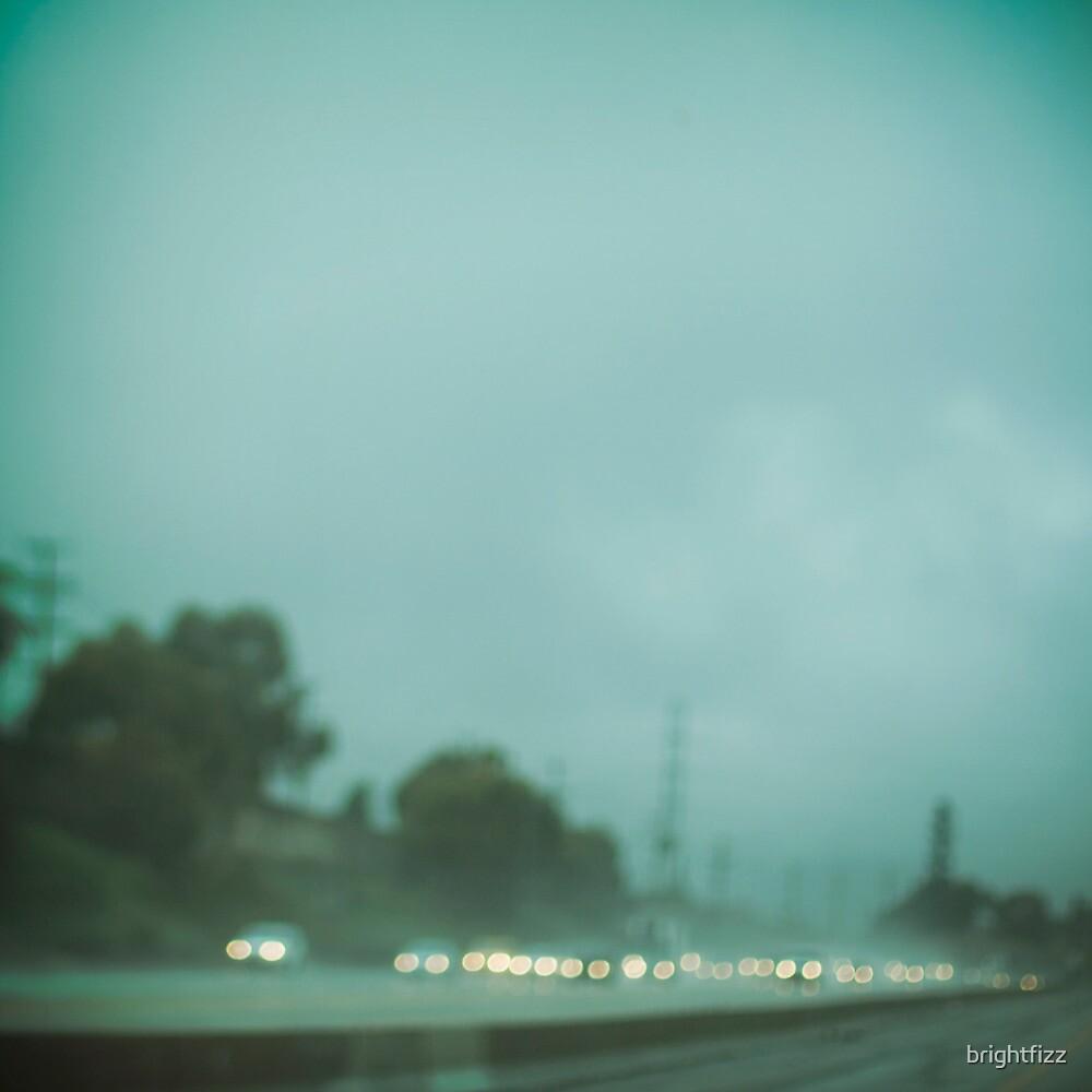 A Los Angeles Rainy Day by brightfizz