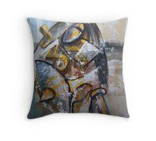 Ghost of War Throw Pillow