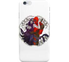 Deadpool and Deadgirl iPhone Case/Skin
