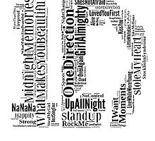 1D WordCloud by TheTomlinsons