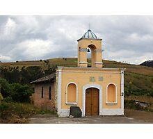 Church in a Rural Landscape Photographic Print