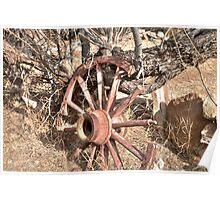 Wagon Wheel Poster