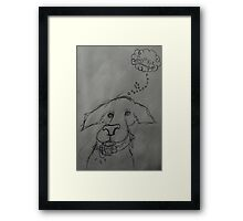 cookie? Framed Print