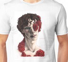 """Organic"" - sherlock portrait, full colour version Unisex T-Shirt"