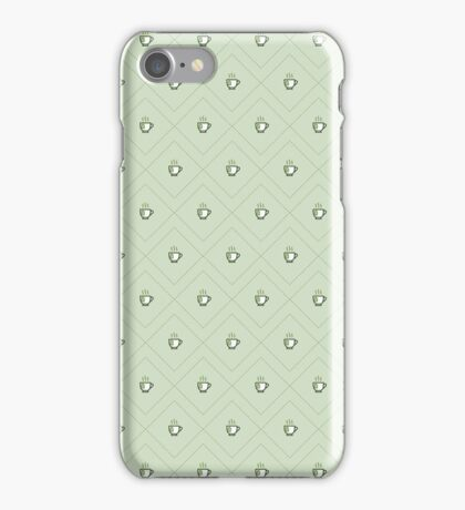 Tea Pattern - Drinks Series iPhone Case/Skin