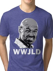 What Would John Locke Do - LOST Tri-blend T-Shirt