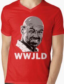 What Would John Locke Do - LOST Mens V-Neck T-Shirt