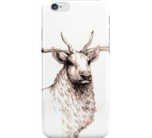 Stag in Pencil iPhone Case/Skin