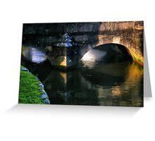 Bridge Of 'Eyes'.......... Greeting Card