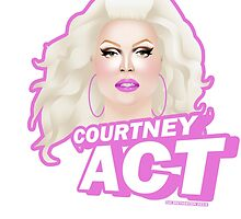 Courtney Act by ZakBretherton