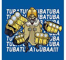Big Band - TUBA TUBA TUBA (Skullgirls) Photographic Print