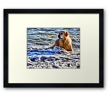 Suppose You Thought That Was Funny............ Framed Print