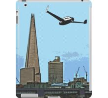 Flying past the Shard in 2020 iPad Case/Skin