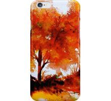 The Trees-Autumn iPhone Case/Skin