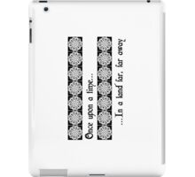 Once There Was A Snowflake... iPad Case/Skin
