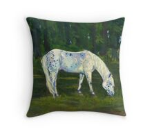 Spotted Pony Throw Pillow