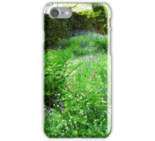 Blue Bells in Bolton Abbey woods iPhone Case/Skin
