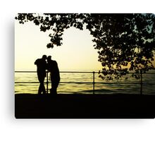 Sharing is Passion in Bregenz, Austria Canvas Print