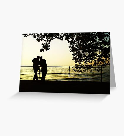 Sharing is Passion in Bregenz, Austria Greeting Card