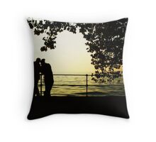 Sharing is Passion in Bregenz, Austria Throw Pillow