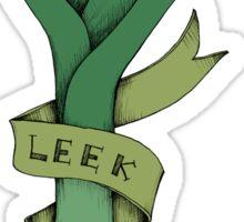Leek kick Sticker