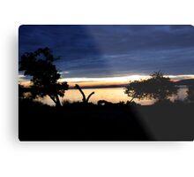 Lake Mburo Sunset - Uganda Metal Print
