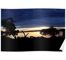 Lake Mburo Sunset - Uganda Poster