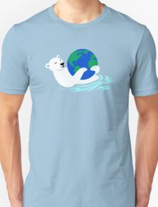 Earth Day Polar Bear T-Shirt