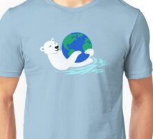 Earth Day Polar Bear Unisex T-Shirt