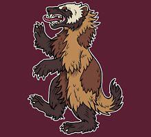 Gulo gulo - Wolverine Womens Fitted T-Shirt