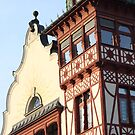 Old Building in City Center - Dornbirn, Austria by Chelsea Herzberg
