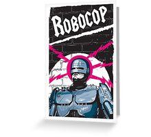 Robocop In Love Greeting Card