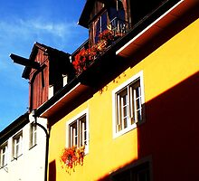 German Home in Meersburg, Germany by Chelsea Herzberg