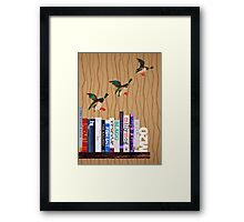 M20 BOOKSHELF #2 Framed Print
