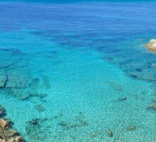Escalet Beach at Cap Camarat, Ramatuelle near St-Tropez Sticker