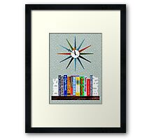 M20 BOOKSHELF #1 Framed Print