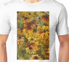 Monet's Sunflowers Unisex T-Shirt