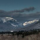 Franconia Notch in New Hampshire by Dave Martsolf