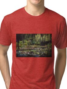 Monet's Lily Pond Tri-blend T-Shirt