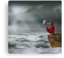 Sometimes Its Easier Just To Let Go Canvas Print