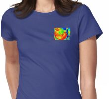 The Larval Stage of Embryonic Bliss Womens Fitted T-Shirt