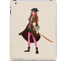Amy Pond, The Pirate iPad Case/Skin