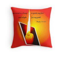 Psalm 119:105   A Light Throw Pillow
