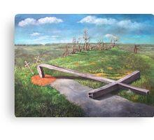 The Steel Cross Canvas Print